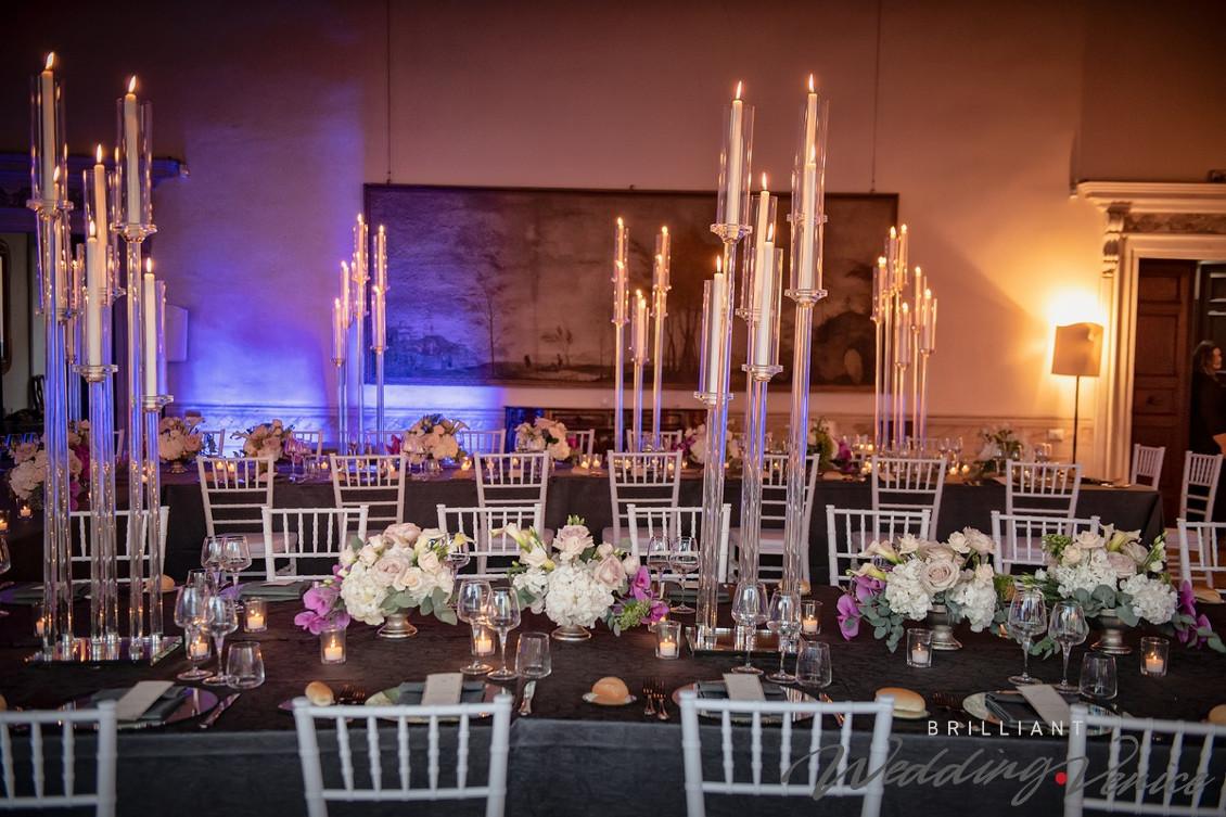 Свадебная церемония и приём гостей в историческом венецианском палаццо
